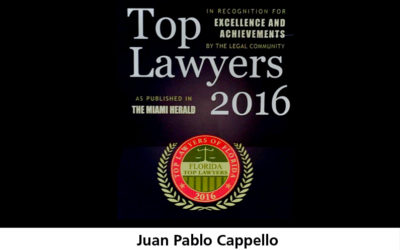 Top Lawyers for year 2016