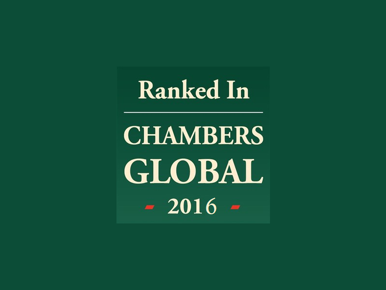 Chambers and Partners Global 2016